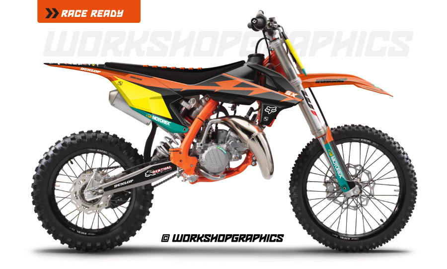 KTM 85 US Race v2 - Graphics Kit