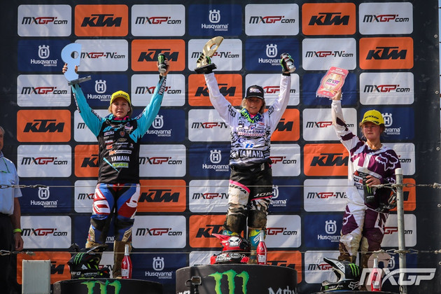 Duncan extends her lead in the Women's Motocross World Championship