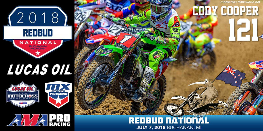Cody's weekly wind down - RedBud round 7