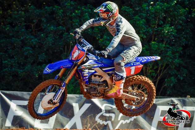 Defending New Zealand MX1 motocross champion Kirk Gibbs looking forward to the final round of the 2019 nationals at Taupo