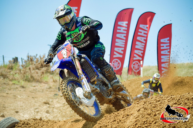 ​Altherm JCR Yamaha Racing Team rider Kirk Gibbs (YZ450F), off to an impressive start in his NZ title defence