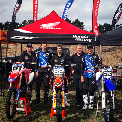 Motocross of Nations team are ready to roll