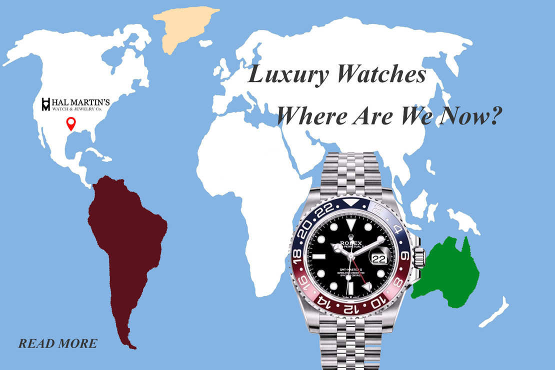 LUXURY WATCHES WHERE ARE WE NOW?