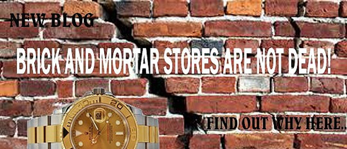 Brick and Mortar are Not Dead!