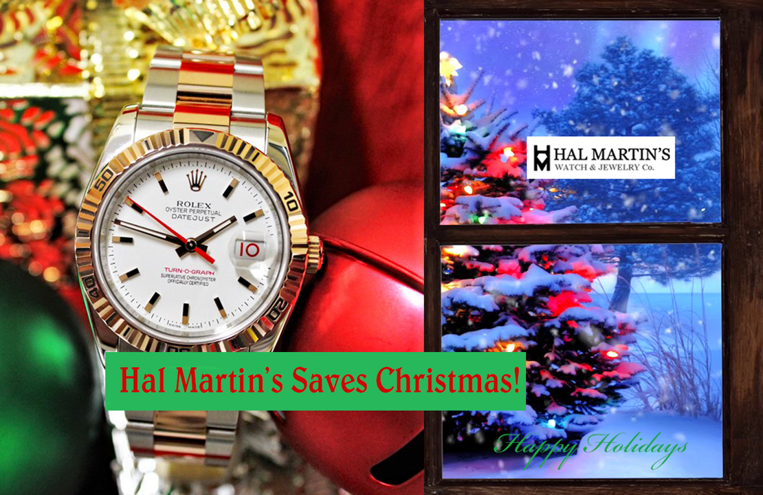 HAL MARTIN'S SAVES CHRISTMAS