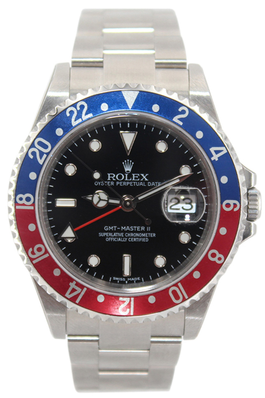 717e82ba362 Rolex Oyster Perpetual GMT-Master II - Rare Black Dial -