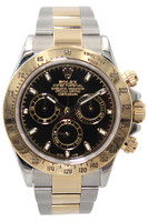 Rolex Oyster Perpetual Cosmograph Daytona - 40mm - Two Tone - Black Stick Dial - Ref. 116503