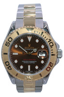 Rolex Oyster Perpetual Yacht-Master - 40mm - Two Tone - Yellow Gold Bezel - Chocolate Dial - Oyster Bracelet - Ref. 16623