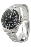 Rolex Oyster Perpetual Submariner Date - 40mm - Stainless Steel - Black Ceramic Bezel - Black Dial - Ref. 116610 (Item #13616)