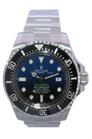 Rolex Oyster Perpetual Sea-Dweller DEEPSEA - 44mm - Stainless Steel - Black and Blue Dial - Black Ceramic Bezel - Ref. 116660