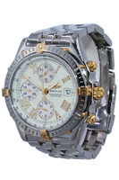 Breitling - Windrider Crosswind - 42 mm - Two Tone - Ivory Roman Dial - Chronograph - Automatic - Ref. B13355
