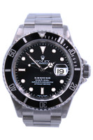 Rolex Oyster Perpetual Submariner - 40mm - Stainless Steel - Unidirectional Rotatable Bezel - Black Dial - Oyster Bracelet-  Ref. 116610