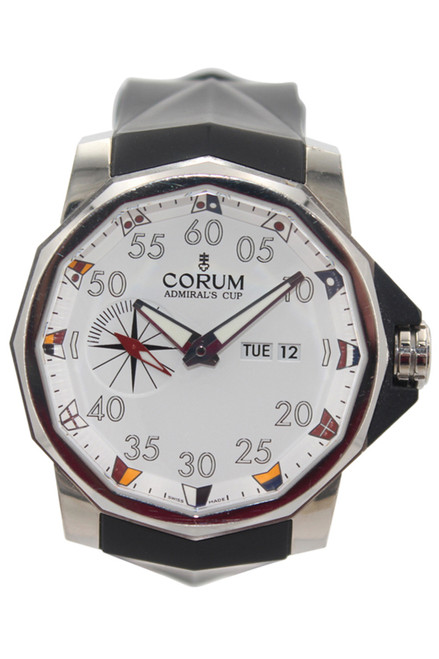 Corum SS Admiral's Cup Competition 48 - White Dial - Ref. 947.931.04/0371 A12