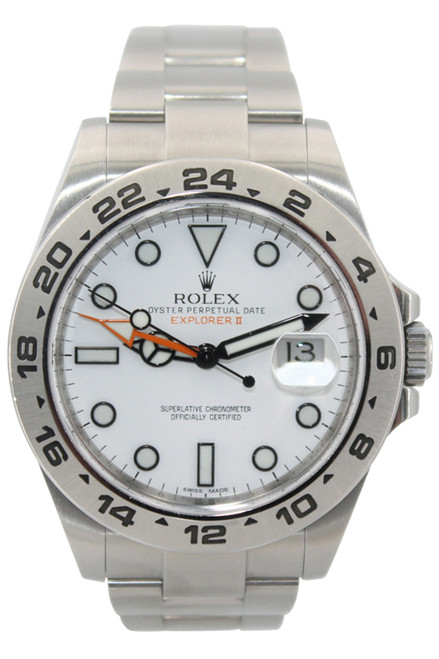 Rolex Oyster Perpetual Explorer II - 42mm- White Dial - Ref. 216570