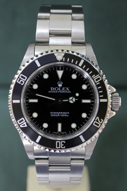 Rolex Oyster Perpetual Submariner - 40mm - Stainless Steel - No Date - Black Dial - Black Bezel - Ref. 5513