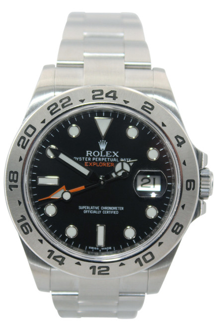Rolex Oyster Perpetual Explorer II - 42mm - Stainless Steel - Black Dial - Ref. 216570