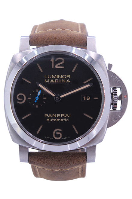 Panerai - Luminor Marina 1950 -44mm - Stainless Steel - Black Dial - 3- Day Power Reserve - Automatic - Ref. Pam 723