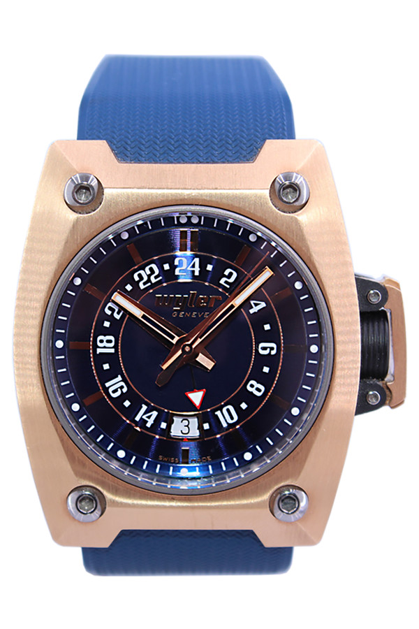 Wyler Men S 18k Rose Gold Code R Limited Edition Automatic Gmt