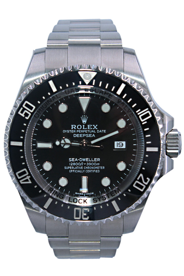 5f46d72e577 Rolex Oyster Perpetual Sea-Dweller DEEPSEA - 44mm - Stainless Steel - Black  Ceramic Bezel