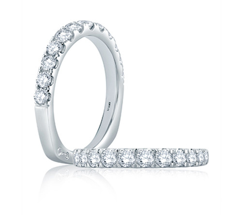 Platinum and Diamond Wedding Ring