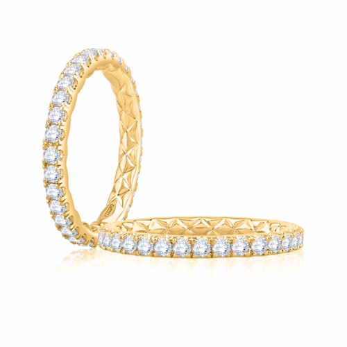 18K Yellow Gold and Diamond Eternity Wedding/Anniversary Ring