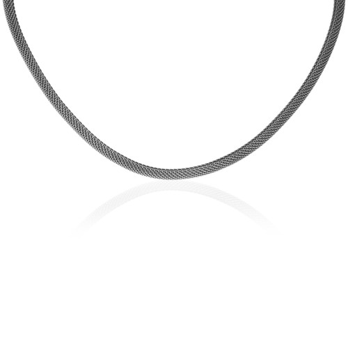 """Stainless Steel Necklace - 16.5"""", 5.0mm"""