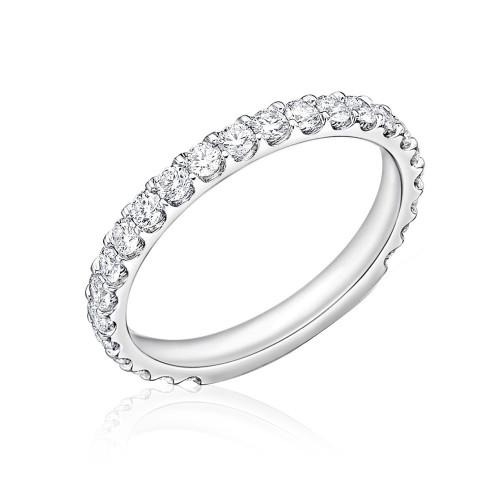 18K White Gold Odessa DiamondWedding Ring