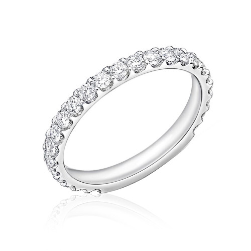 Platinum Odessa Diamond Wedding Ring