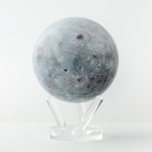 Moon Globe with Acrylic Stand