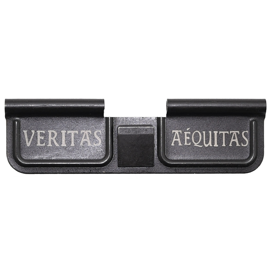 Dust Cover LH 'Veritas Aequitas' Engraved (BLEM)