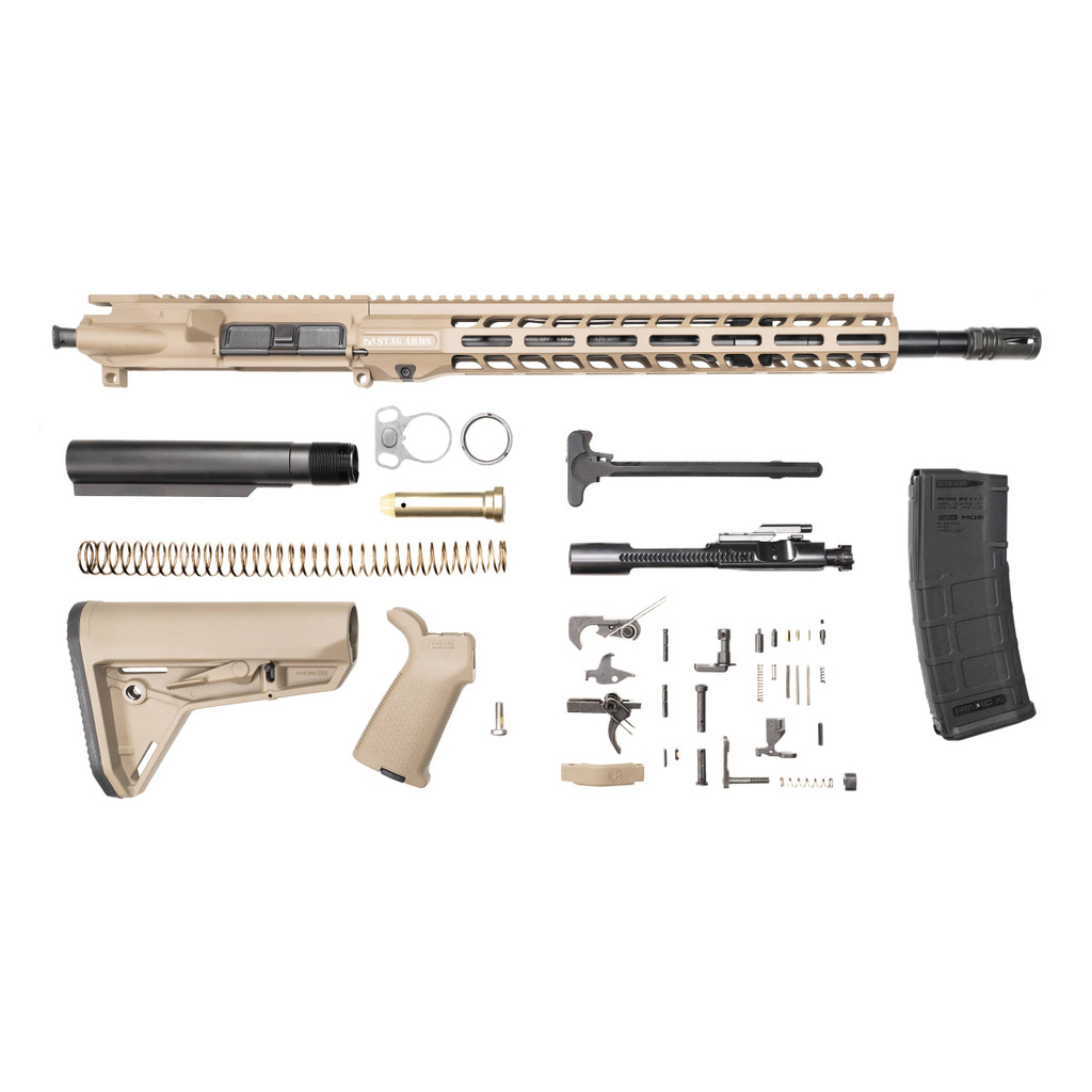 Stag 15 Tactical FDE Nitride Rifle Kit