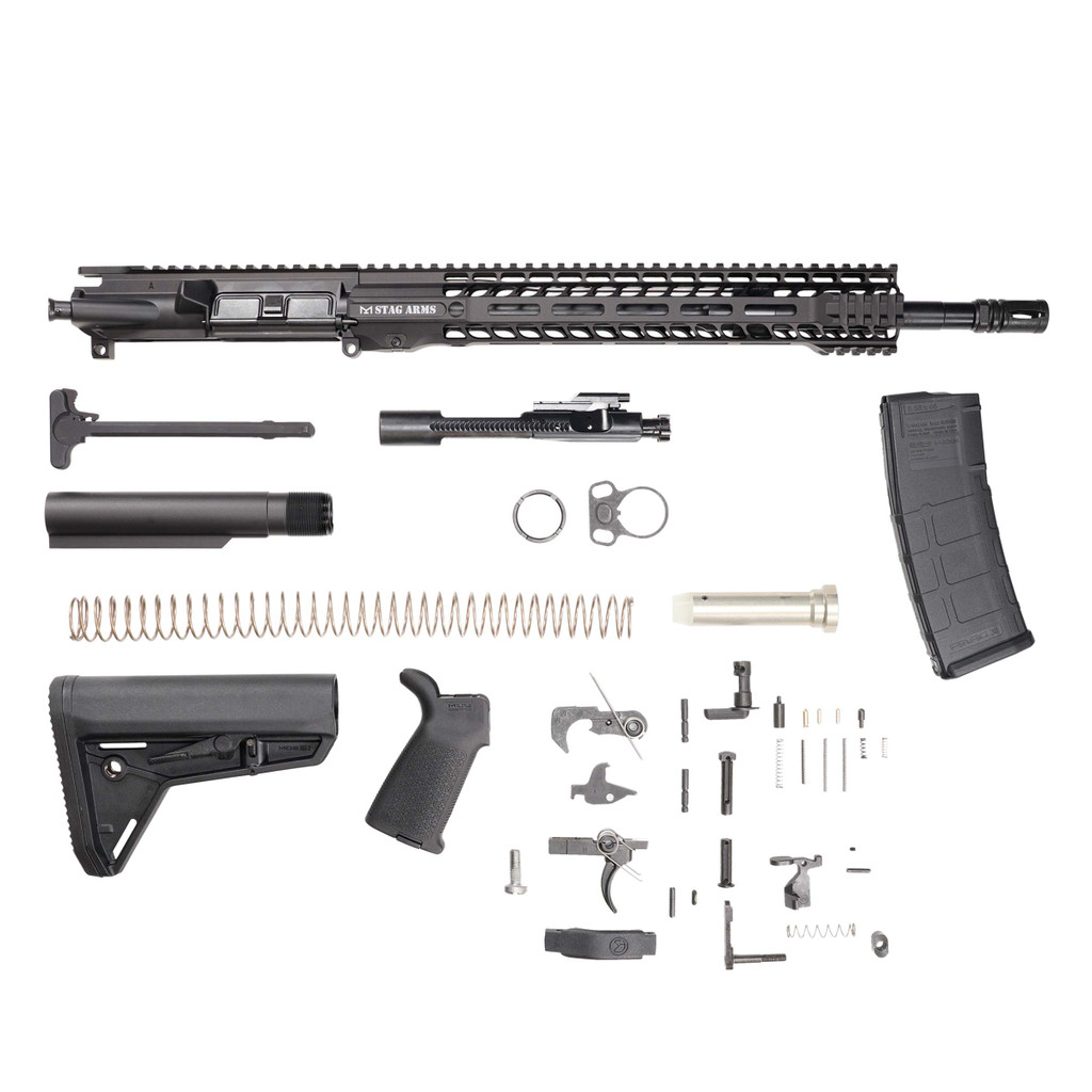 Stag 15 Tactical Nitride Rifle Kit - w/Quad HG