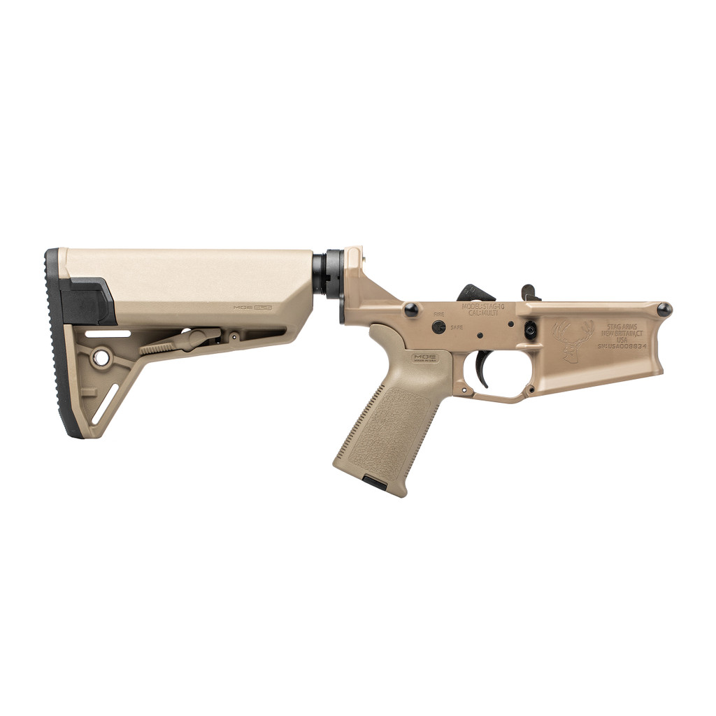 Stag 10 Carbine FDE Complete Lower