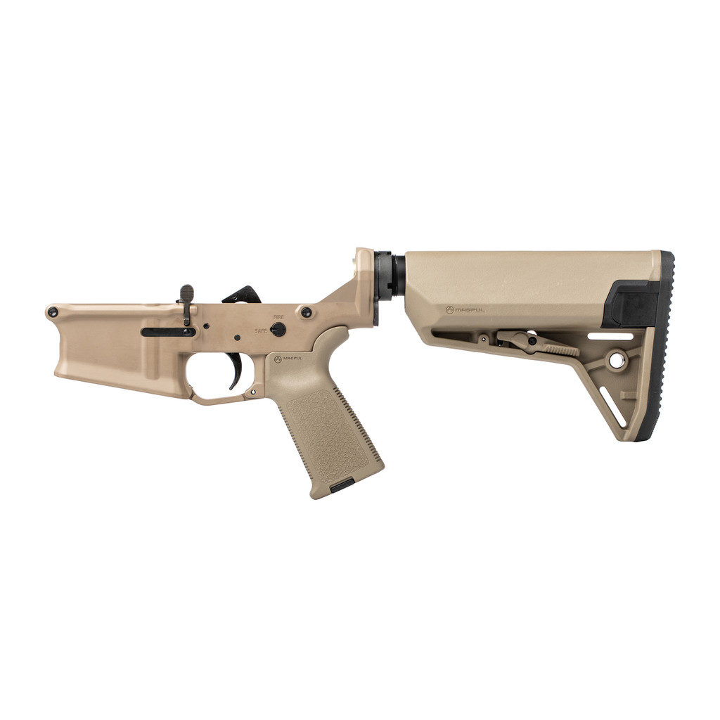 Stag 10L Carbine FDE Complete Lower - Reverse