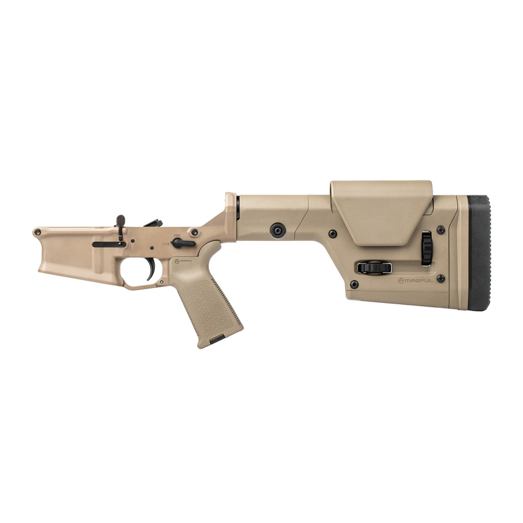 Stag 10 LR FDE Complete Lower - Reverse
