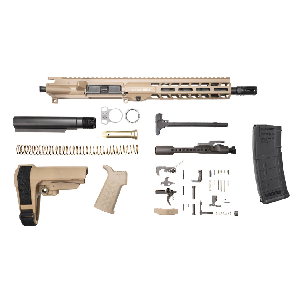 Stag 15 Tactical Pistol 10.5 in FDE Phosphate Kit