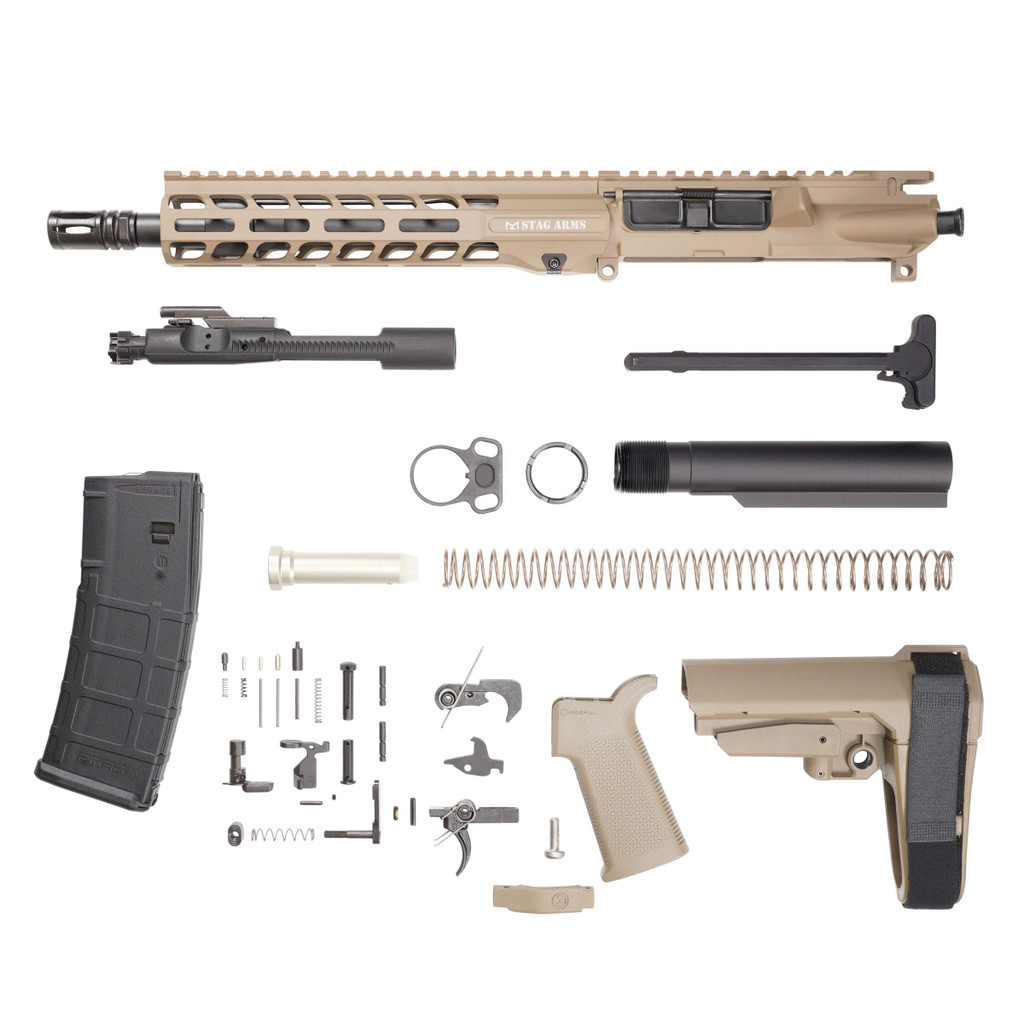 Stag 15L Tactical Pistol 10.5 in FDE Phosphate Kit