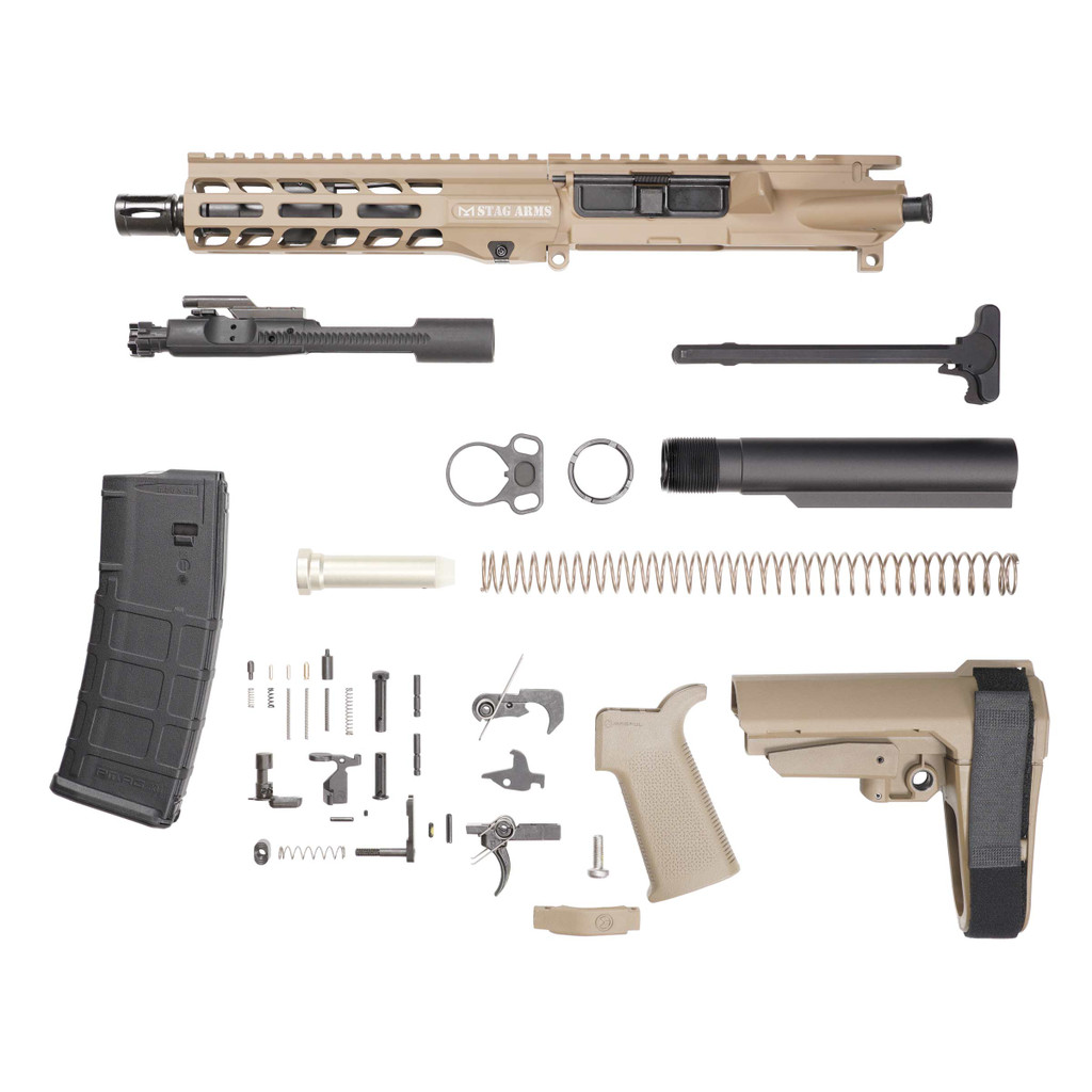 Stag 15L Tactical Pistol 7.5 in FDE Phosphate Kit