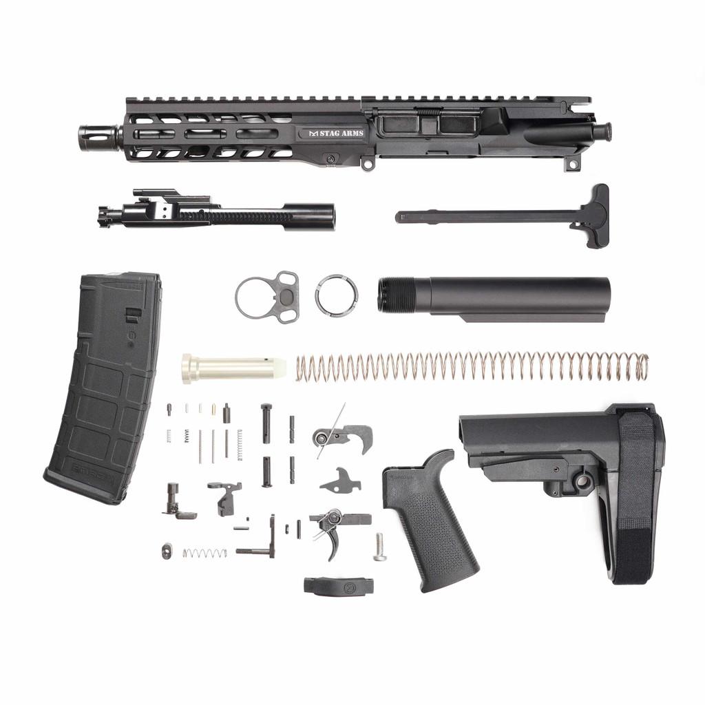 Stag 15L Tactical Pistol 7.5 in Nitride Kit