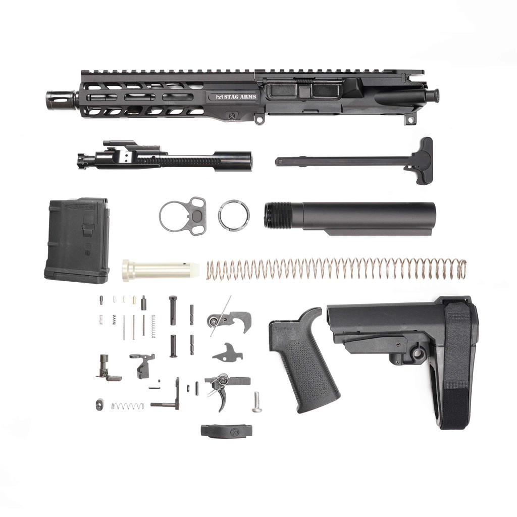 Stag 15L Tactical Pistol 7.5 in Nitride Kit - 10rd Magazine