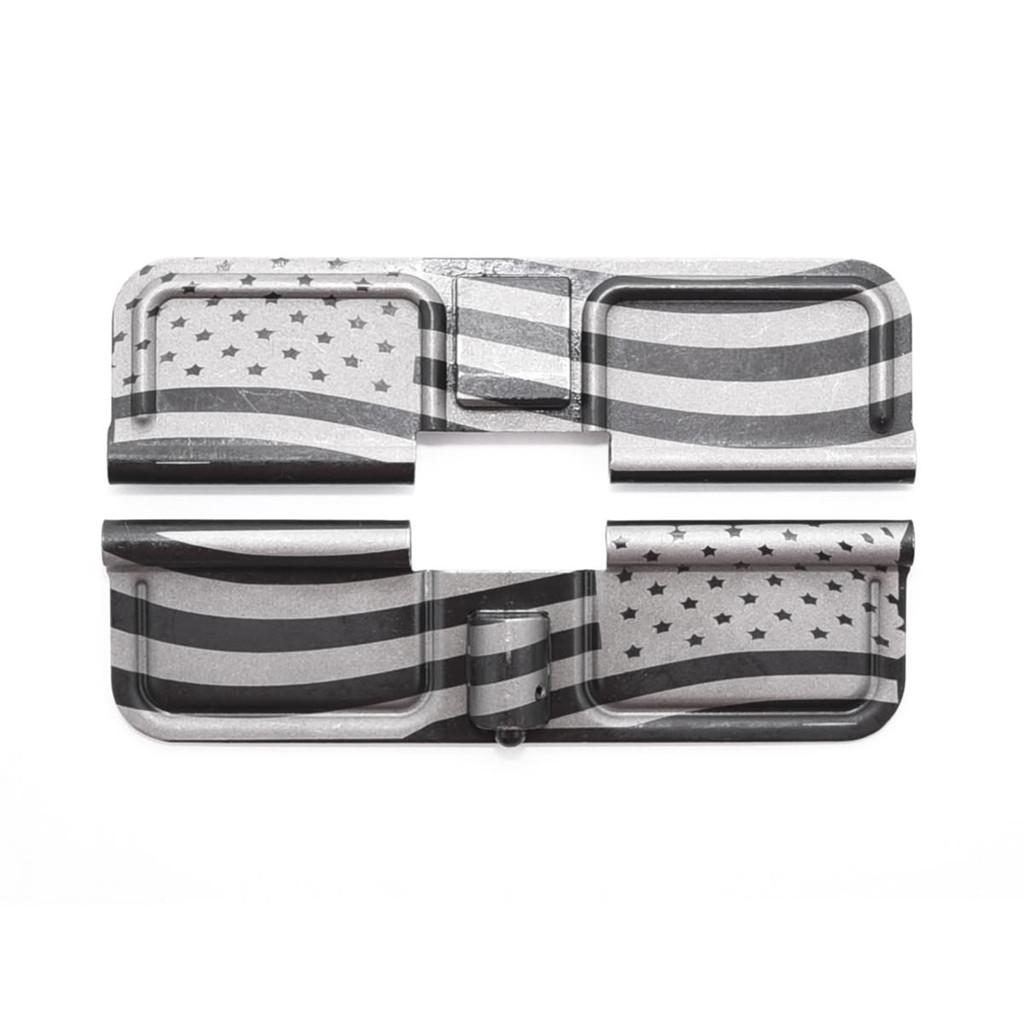 Dust Cover RH 'American Flag' Engraved