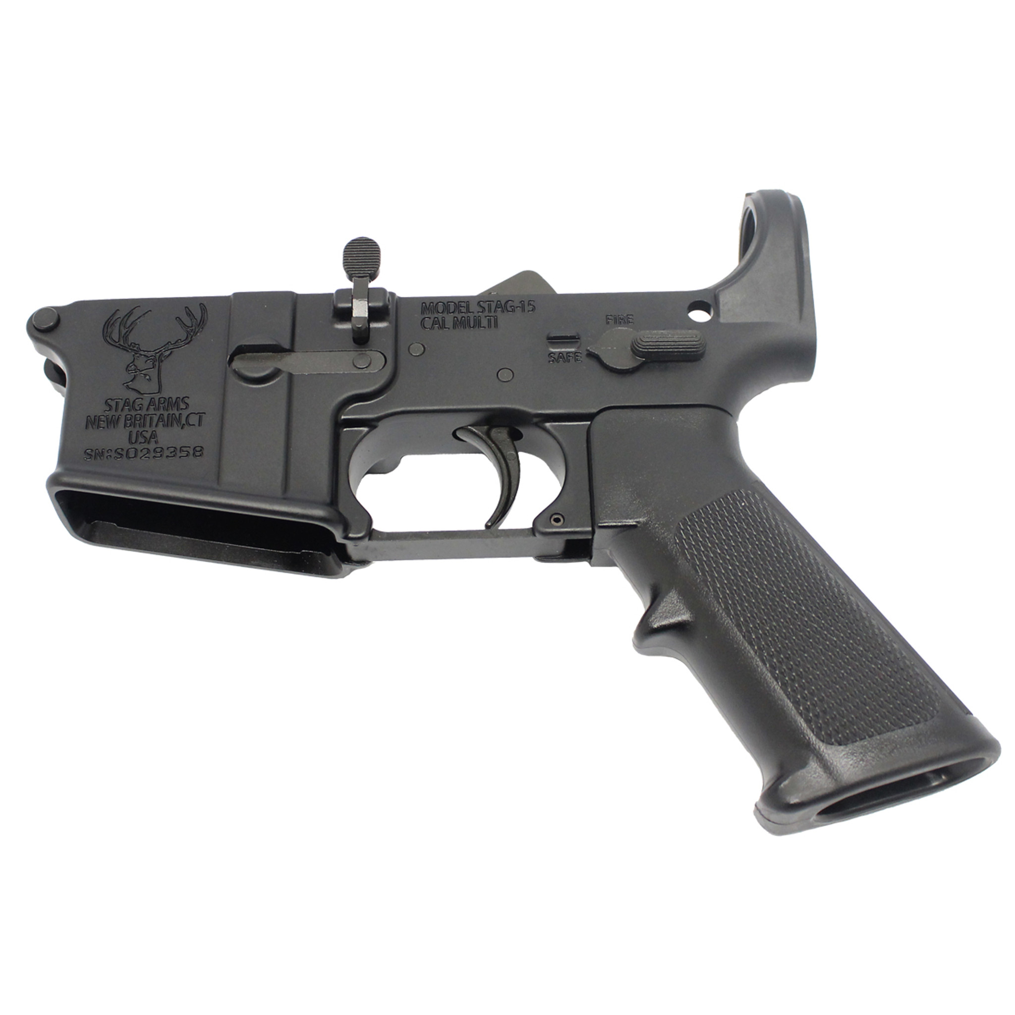 AR15 Lower Receiver with Kit Installed