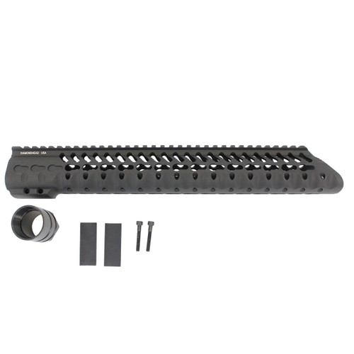 "Diamondhead .308 VRS-T 13.5"" Free Float Handguard (Blem)"