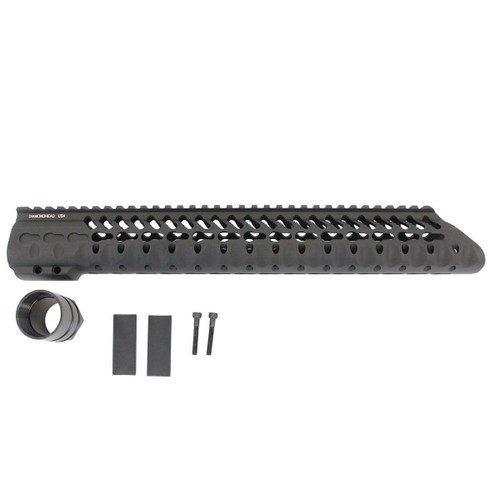 "Diamondhead .308 VRS-T 13.5"" Free Float Handguard"