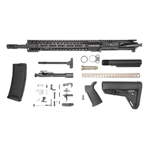 Stag 15L Tactical Phosphate Rifle Kit - w/Quad HG
