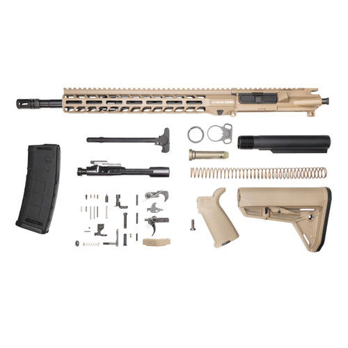 Stag 15L Tactical FDE Nitride Rifle Kit