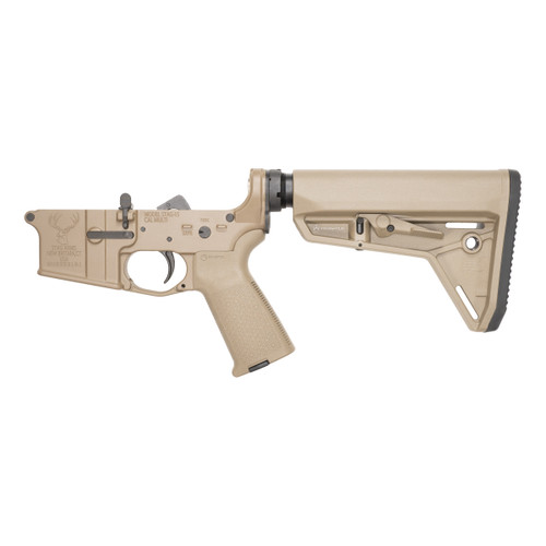 Stag 15L Tactical FDE Complete Lower (Reverse)