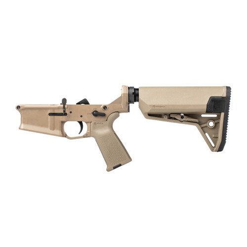 Stag 10 Carbine FDE Complete Lower - Reverse