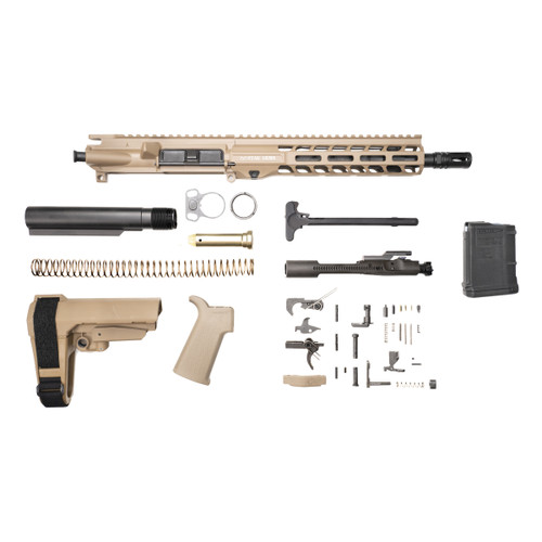 Stag 15 Tactical Pistol 10.5 in FDE Nitride Kit - 10rd Magazine