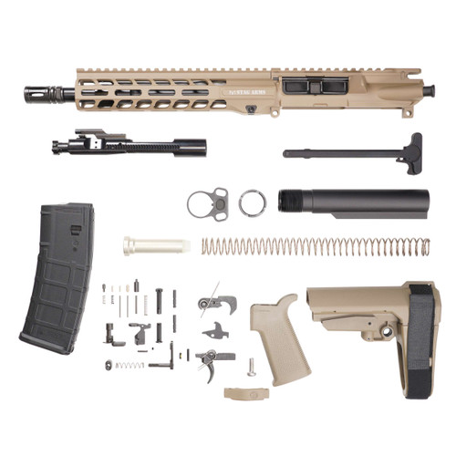 Stag 15L Tactical Pistol 10.5 in FDE Nitride Kit
